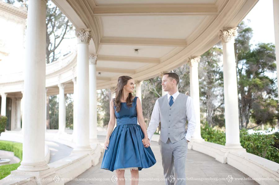 Heather And Tommy Enagagement Session Balboa Park
